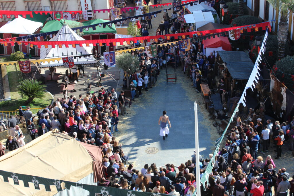 mercado medieval gines